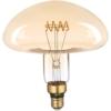Kép 2/4 - Avide LED Jumbo Filament Millau Amber 6W E27 2400K dimmelhető