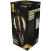 Kép 1/4 - Avide LED Jumbo Filament Ponte Amber 8W E27 2400K dimmelhető