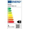Kép 4/4 - Avide LED Soft Filament izzó T45 3W E27 360° EW 2700K