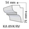 Kép 1/3 - ArtLED KA-09/K Rejtett világítás - oldalfal