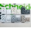 Kép 2/4 - Schneider Electric Asfora - Keret, függőleges, 3-as, fehér