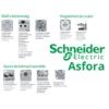 Kép 4/4 - Schneider Electric Asfora - Keret, függőleges, 3-as, fehér