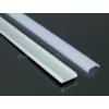 Kép 5/6 - LED Profiles APB-1806 Hajlítható alu U profil ezüst, LED szalaghoz, opál burával