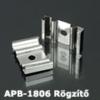 Kép 1/2 - LED Profiles APB-1806 Hajlítható alu U profil ezüst - rögzítő elem, fém