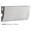 Kép 1/3 - Elite Decor - Tesori rejtett világításos díszléc (KD-304) védőbevonattal