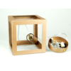 Kép 4/4 - V-TAC Champion-IV geometrikus függeszték (E27) pezsgőarany kocka