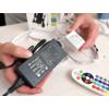 Kép 6/9 - V-TAC LED szett kültéri: 5 méter RGB+vezérlő + táp. 5050-30