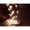 Kép 2/4 - V-TAC LED szalag szett ágyvilágításhoz: fényerő állítás, mozgásérzékelés, 2x120 cm természetes fehér