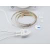 Kép 2/3 - V-TAC LED szalag szett ágyvilágításhoz: fényerő állítás, mozgásérzékelés, 2x120 cm meleg fehér
