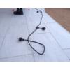 Kép 5/9 - V-TAC E27 foglalatos fényfüzér, fekete, IP54, 5 méter, 10 db izzóhoz