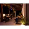 Kép 6/9 - V-TAC E27 foglalatos fényfüzér, fekete, IP54, 5 méter, 10 db izzóhoz
