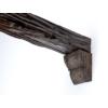 Kép 4/6 - Elite Decor DecoWood Mahagóni-90 Univerzális konzol-01 (EQ017)