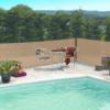 Kép 1/3 - Nortene Szőtt árnyékoló háló 80%-os takarás, EXTRANET (2x10 méter) homokbarna