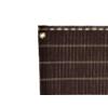Kép 3/4 - Nortene Szőtt árnyékoló háló 85%, fűzőlyukakkal HAVANA (1.5x5 méter) barna