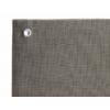Kép 4/6 - Nortene Belátásgátló fűzőlyukkal 85%, modern árnyékoló háló EVERLY (1 x 5 méter)
