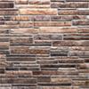 Kép 1/4 - Regul PVC falpanel - Szeletelt kő - Kis barna