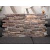 Kép 2/4 - Regul PVC falpanel - Szeletelt kő - Kis barna