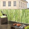 Kép 1/2 - Nortene Belátásgátló fűzőlyukkal 85%, nyomtatott minta STYLIA (1x3 méter) bambusz