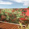 Kép 1/6 - Nortene Belátásgátló fűzőlyukkal 85%, nyomtatott minta STYLIA (1x3 méter) virág