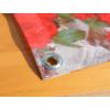 Kép 2/6 - Nortene Belátásgátló fűzőlyukkal 85%, nyomtatott minta STYLIA (1x3 méter) virág