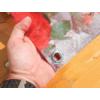 Kép 3/6 - Nortene Belátásgátló fűzőlyukkal 85%, nyomtatott minta STYLIA (1x3 méter) virág