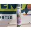 Kép 6/6 - Nortene Belátásgátló fűzőlyukkal 85%, nyomtatott minta STYLIA (1x3 méter) virág