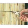 Kép 4/6 - Nortene Belátáskorlátozó 80%, természetes nád, félprofil NATURCANE (2x5 méter)