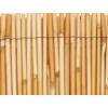 Kép 2/6 - Nortene Belátáskorlátozó 75%, természetes nádszövet REEDCANE (2x5 méter)