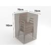 Kép 2/3 - Nortene Covertop kerti bútortakaró (70x70x110cm) kerti szék