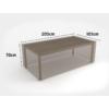 Kép 2/3 - Nortene Covertop kerti bútortakaró (205x105x70cm) négyszögletes asztal