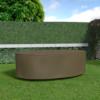 Kép 1/3 - Nortene Covertop kerti bútortakaró (230x130x70cm) ovális asztal