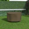 Kép 1/3 - Nortene Covertop kerti bútortakaró (125x125x70cm) kör alakú asztal