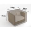 Kép 2/3 - Nortene Covertop Kerti bútortakaró (95x95x70cm) kerti fotel