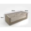Kép 2/3 - Nortene Covertop kerti bútortakaró (230x100x70cm) 3 személyes kanapé