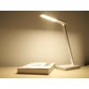 Kép 11/17 - V-TAC Asztali LED lámpa (5W) változtatható színhőmérséklet, fényerőszabályozás, vezeték nélküli töltés funkció, fehér-ezüst
