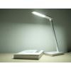 Kép 12/17 - V-TAC Asztali LED lámpa (5W) változtatható színhőmérséklet, fényerőszabályozás, vezeték nélküli töltés funkció, fehér-ezüst