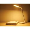 Kép 13/17 - V-TAC Asztali LED lámpa (5W) változtatható színhőmérséklet, fényerőszabályozás, vezeték nélküli töltés funkció, fehér-ezüst