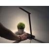 Kép 11/15 - V-TAC Asztali LED lámpa (5W) változtatható színhőm. + fényerőszabályozás, időzített kikapcs., vezeték nélküli töltés, fekete-ezüst