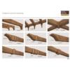 Kép 6/6 - Elite Decor DecoWood Mahagóni-190 Modern poliuretán deszka panel (ET405)