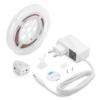 Kép 1/7 - V-TAC LED szalag szett ágyvilágításhoz: fényerő állítás, mozgásérzékelés, 1x120 cm meleg fehér