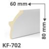 Kép 1/2 - Elite Decor Poliuretán rejtett világítás díszléc (KF-702) ütésálló
