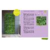 Kép 17/17 - Nortene Vertical Tropic műanyag zöldfal trópusi növényekkel (100x100 cm)