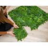 Kép 5/17 - Nortene Vertical Tropic műanyag zöldfal trópusi növényekkel (100x100 cm)