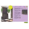 Kép 13/13 - Nortene Vertical Lavanda műanyag zöldfal levendulával (100x100 cm)