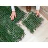 Kép 5/13 - Nortene Vertical Lavanda műanyag zöldfal levendulával (100x100 cm)