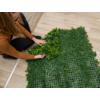 Kép 2/14 - Nortene Vertical Forest műanyag zöldfal az erdő növényeivel (100x100 cm)