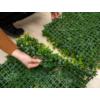 Kép 4/14 - Nortene Vertical Forest műanyag zöldfal az erdő növényeivel (100x100 cm)