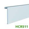 Kép 1/5 - Elite Decor Parkettaszegély léc (HCR511) kőkemény HDPS anyagból, 16mm-es kábelcsatornához!