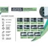 Kép 5/5 - Elite Decor Parkettaszegély léc (HCR511) kőkemény HDPS anyagból, 16mm-es kábelcsatornához!