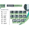 Kép 5/5 - Elite Decor Parkettaszegély léc (HCR508) kőkemény HDPS anyagból, csempéhez is!
